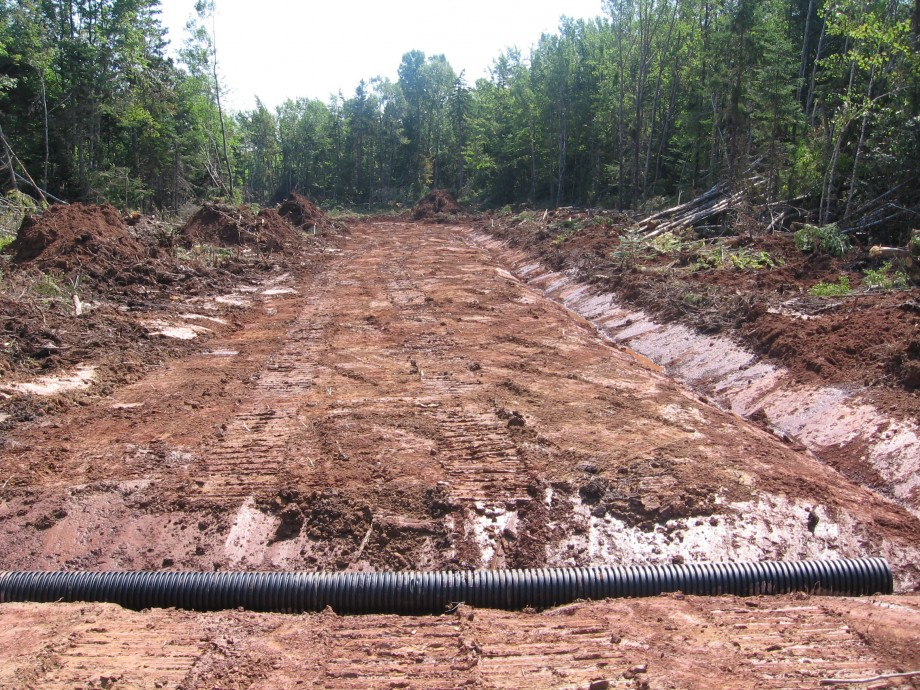 Road Construction Materials : New road construction image gallery abl timber ltd
